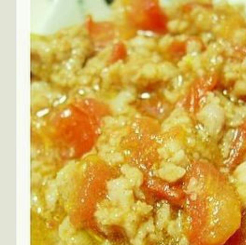 番茄鸡蛋夹肉饼