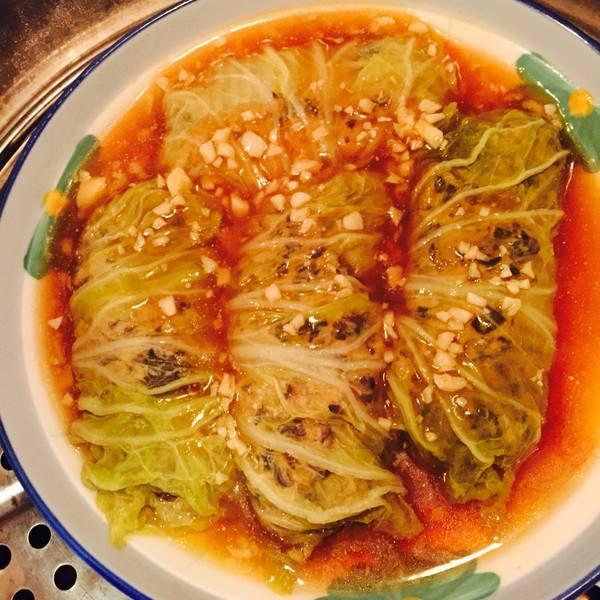 蚝油白菜卷