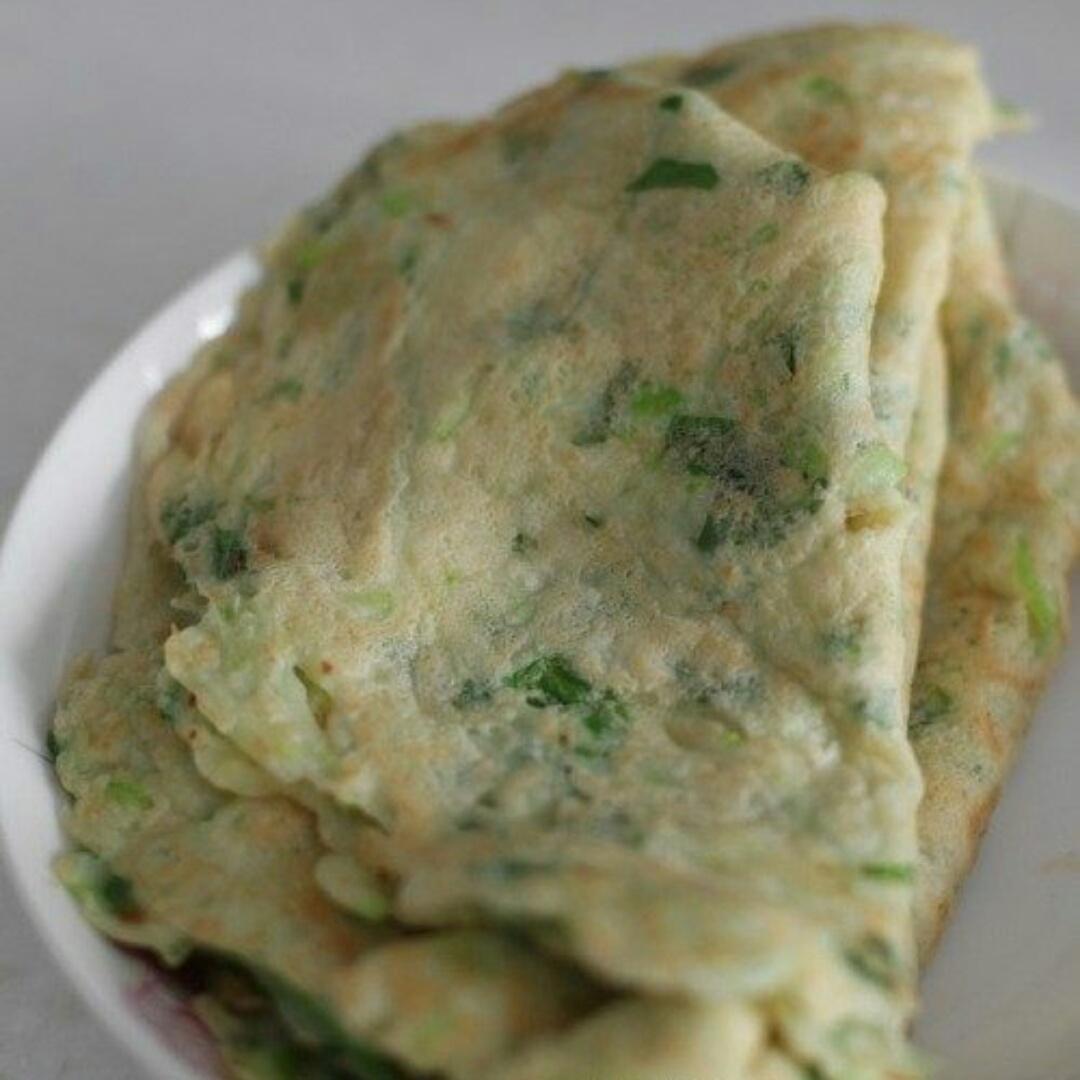 西葫芦香芹鸡蛋饼