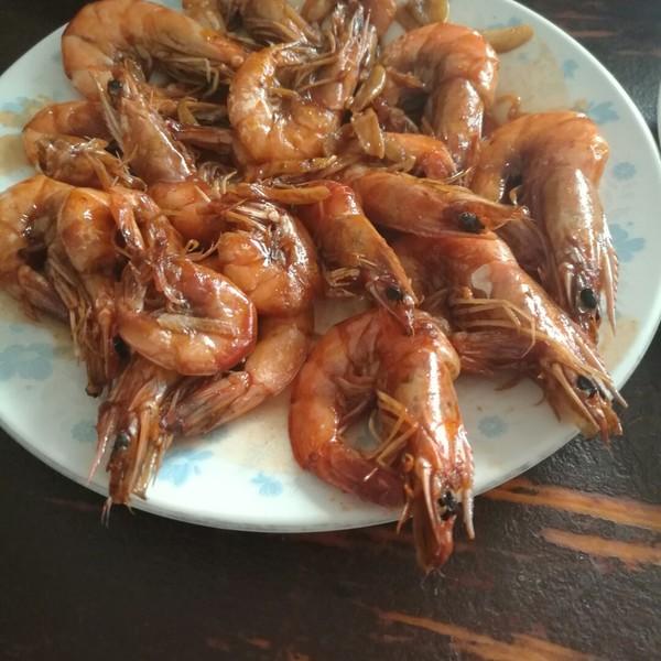 香草可乐虾