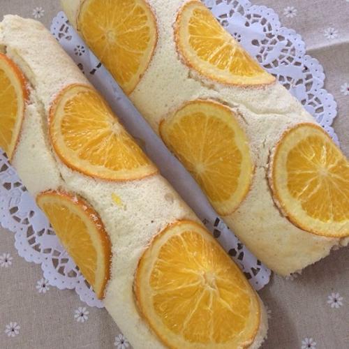 香橙奶油蛋糕