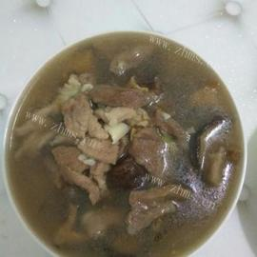 香菇瘦肉汤