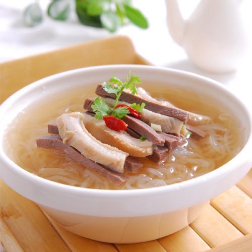 美味牛杂粉丝汤