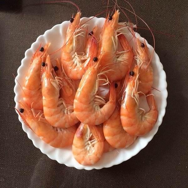 水煮基围虾