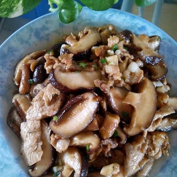 香菇炒杂蔬
