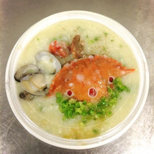 自制水蟹粥