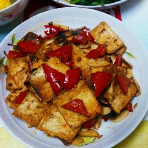 DIY酱爆豆腐