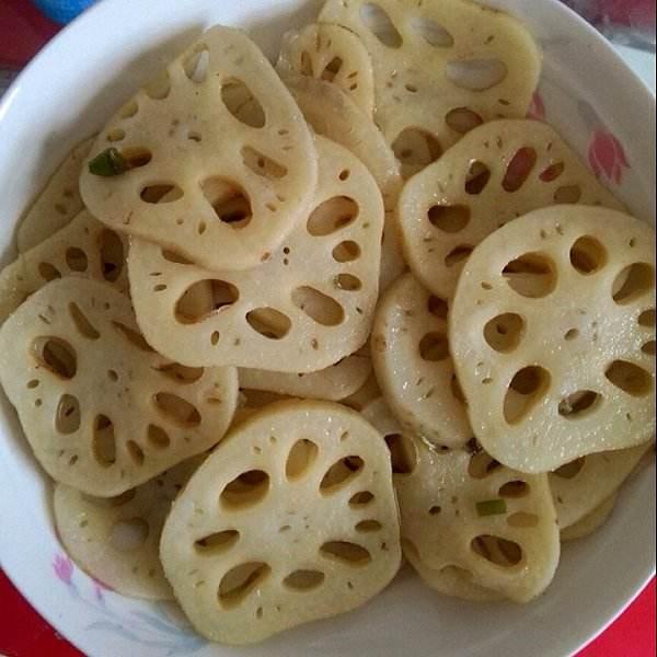 好吃的柠檬藕片