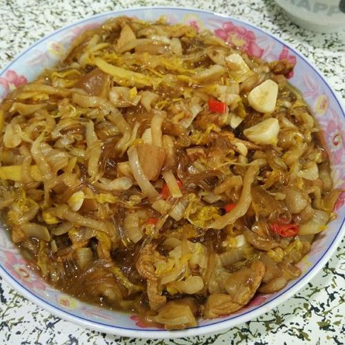 酸菜炒粉条