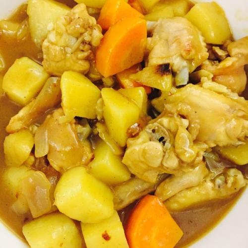 咖喱焖土豆