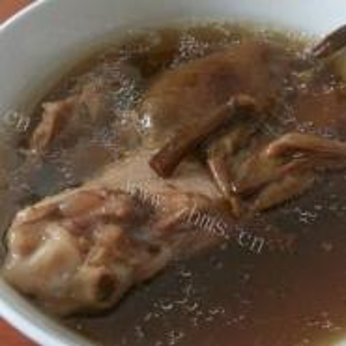 茶树菇猪骨汤