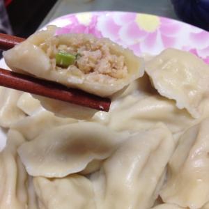 韭菜肉馅水饺