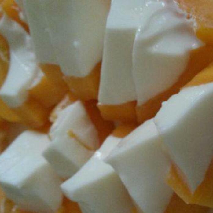 木瓜鲜奶冻