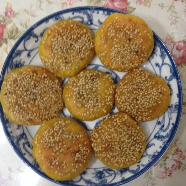芝麻糯米饼的做法