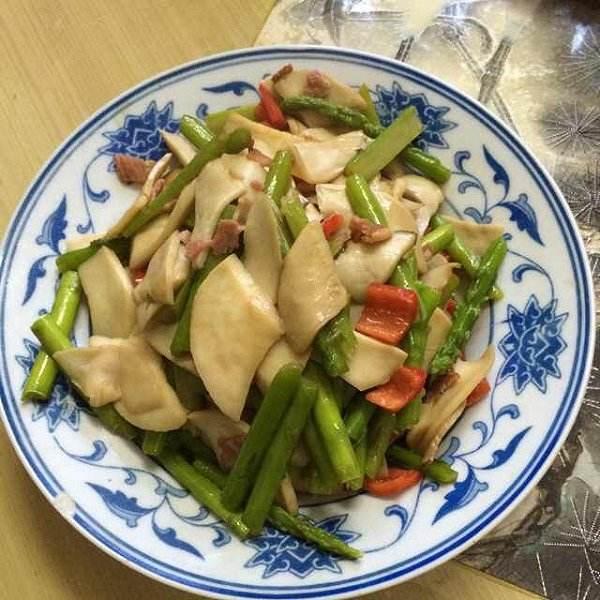 芦笋杏鲍菇