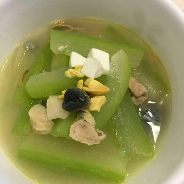 节瓜蜜枣排骨汤