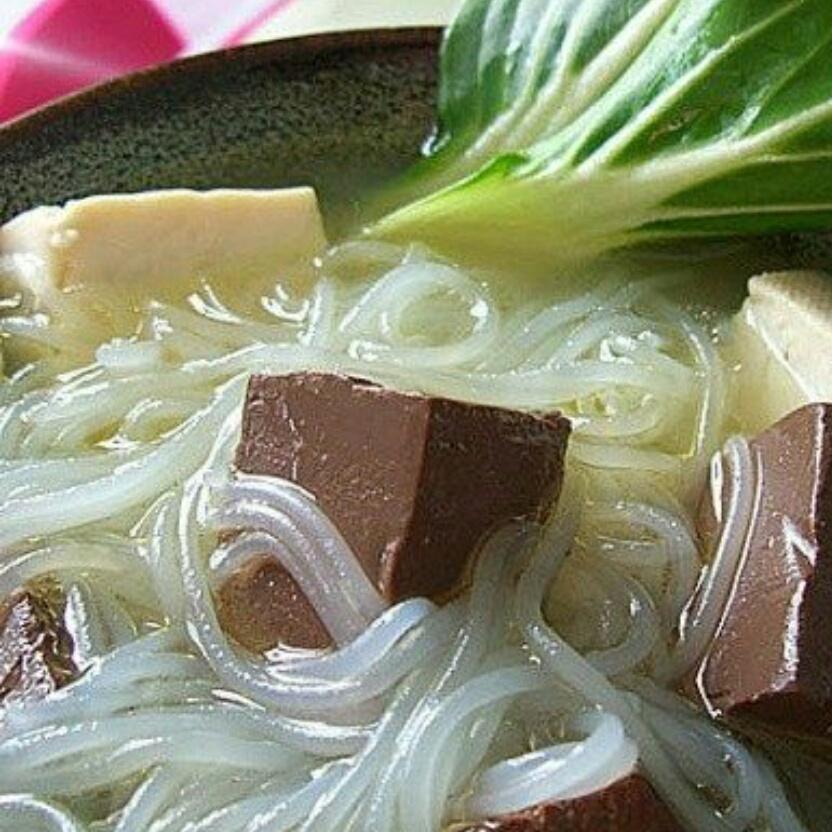 鸭血豆腐粉丝汤