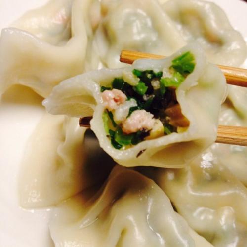 口感丰富的芹菜猪肉水饺