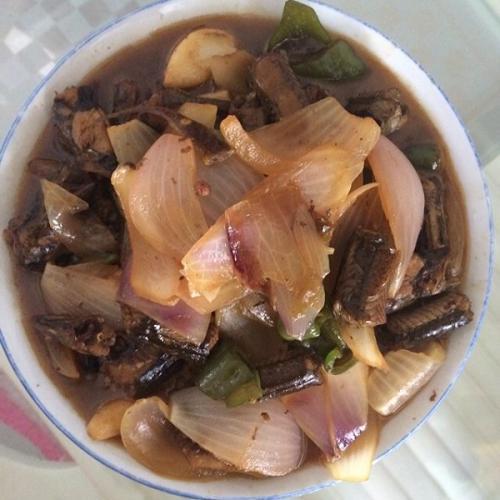 洋葱炒黄鳝