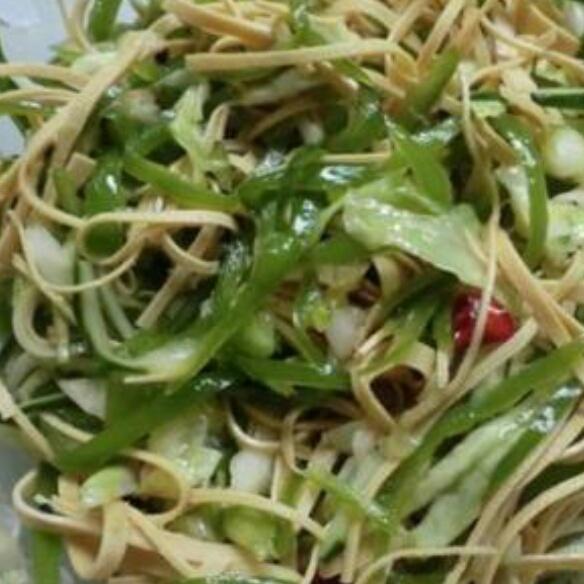 虾皮青椒土豆丝