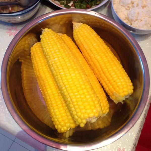 煮水果玉米