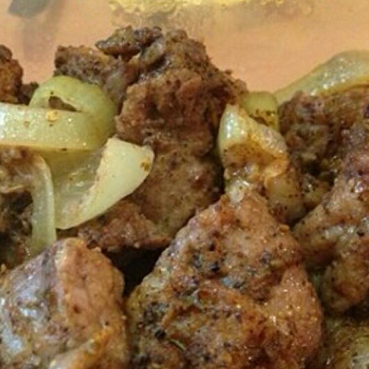 大葱烤肉卷