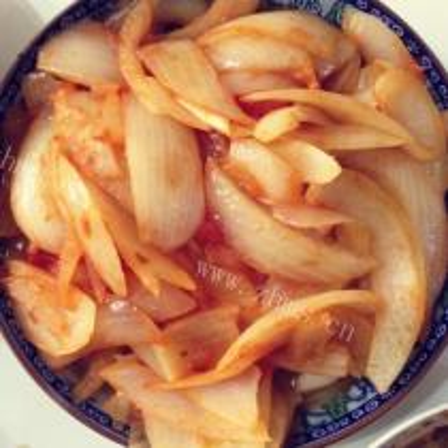 番茄炒洋葱