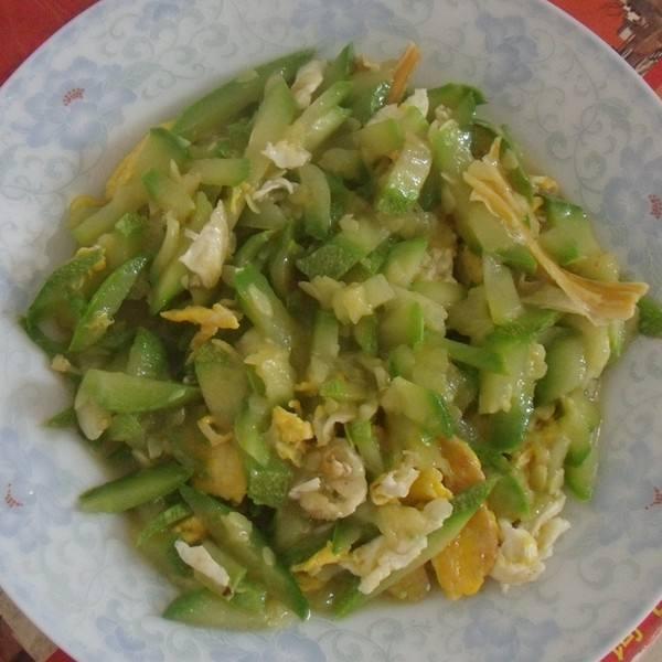 南瓜炒鸡蛋