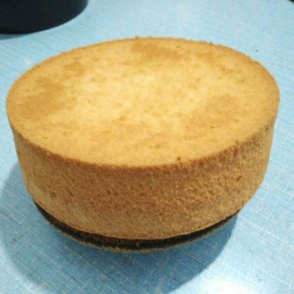 椰奶戚风蛋糕