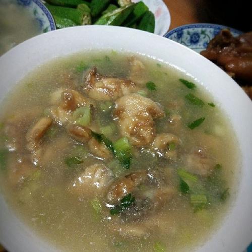 鲈鱼丝瓜汤
