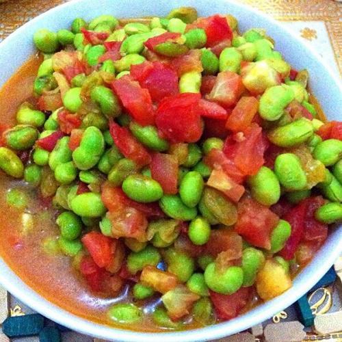 番茄青豆肉末