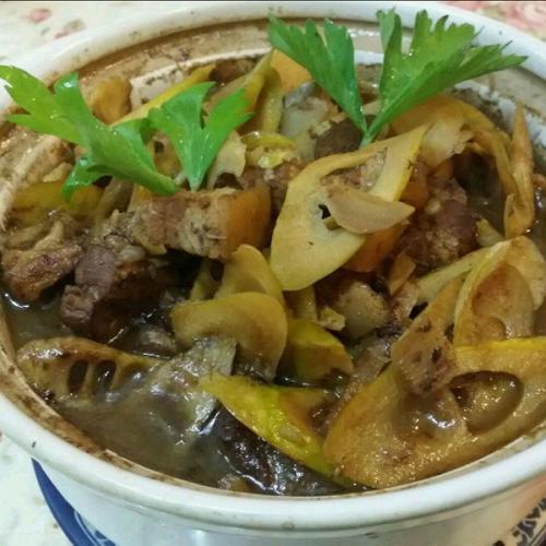 美味竹笋炖排骨