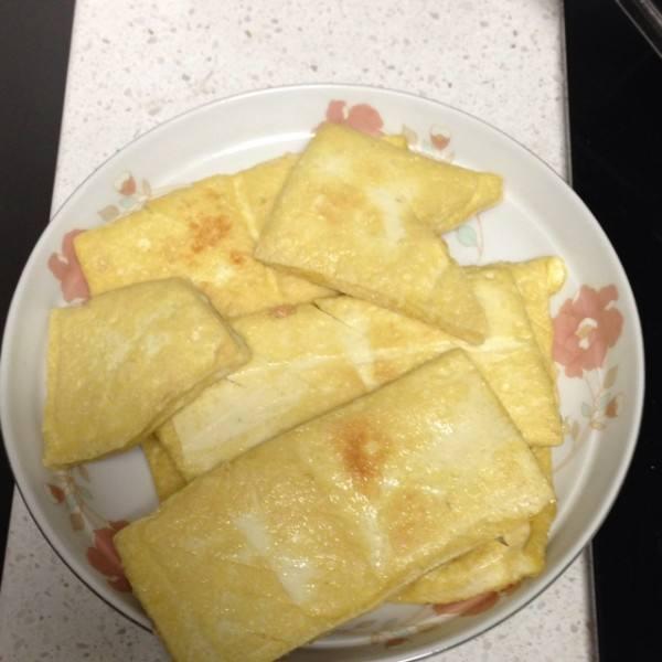 自制油豆腐干