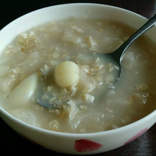 百合莲子粥