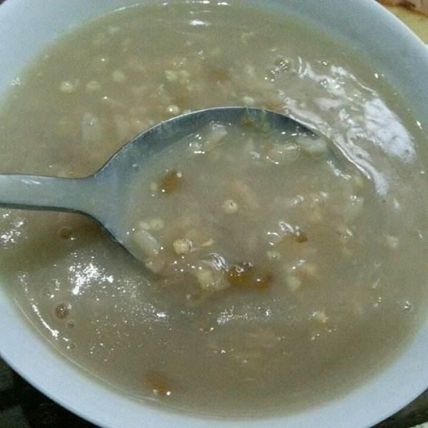 小米麦片粥