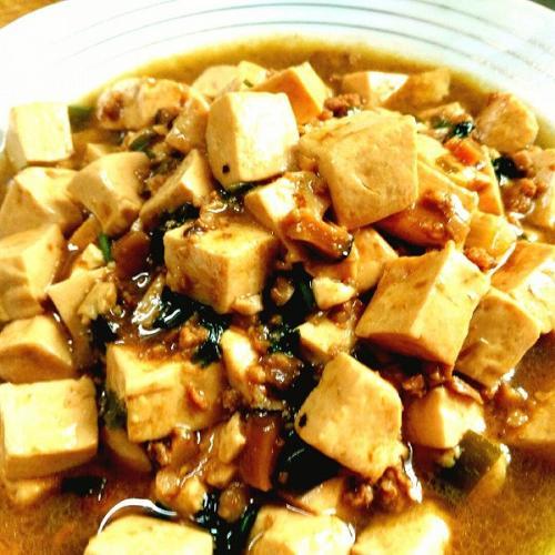 香菇肉沫豆腐
