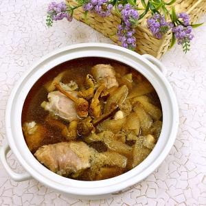 姬松茸蒸鸡