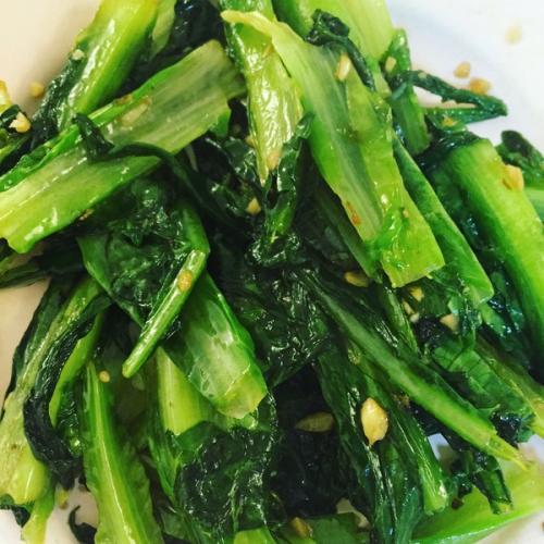 清炒莴苣叶