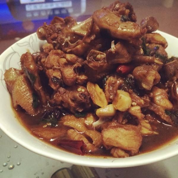 小鸡炖榛蘑