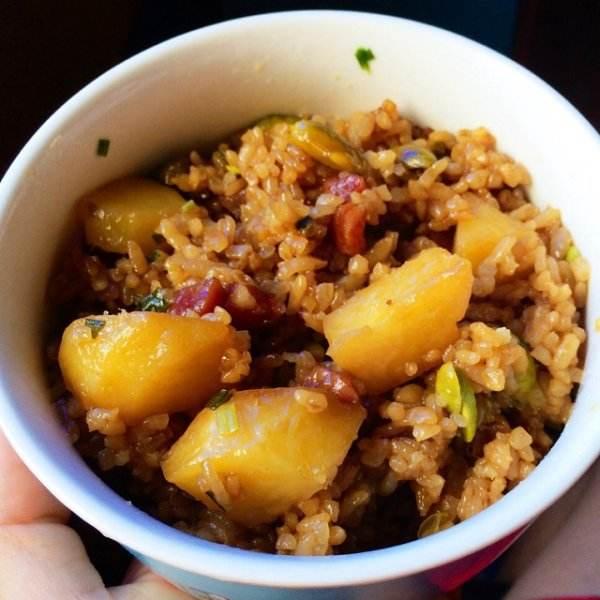 培根土豆焖饭