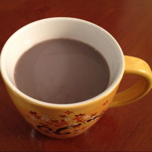 黑芝麻黑豆浆
