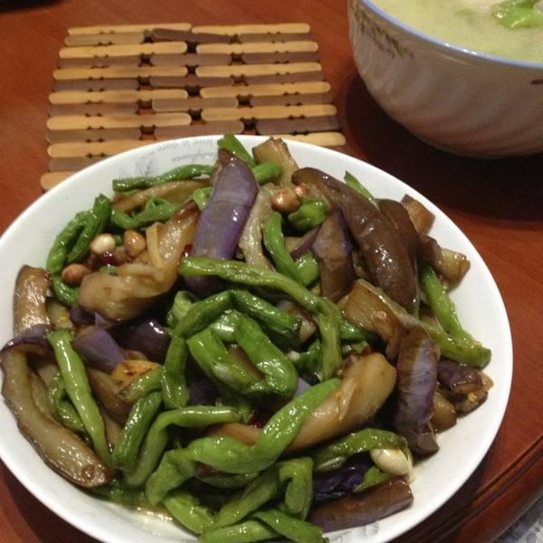 蚝油炒豆角