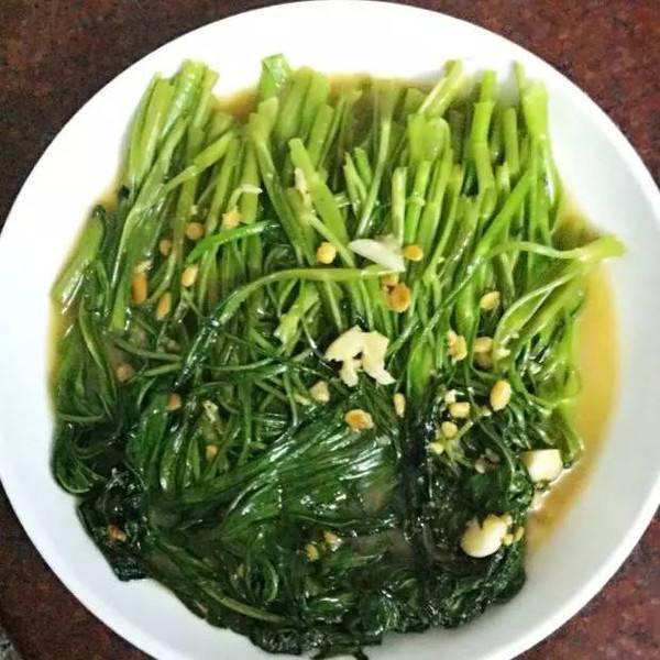 普宁豆酱炒空心菜