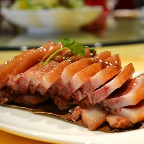 香辣猪头肉