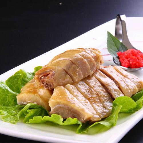 中秋节食谱 桂花酒酿鸭