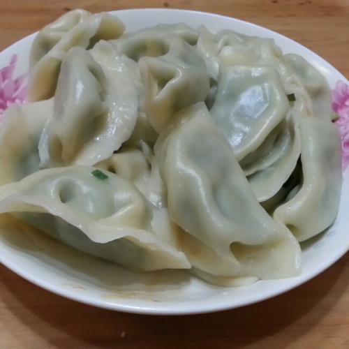 韭菜大肉水饺