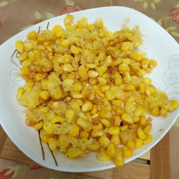 鸡蛋炒玉米