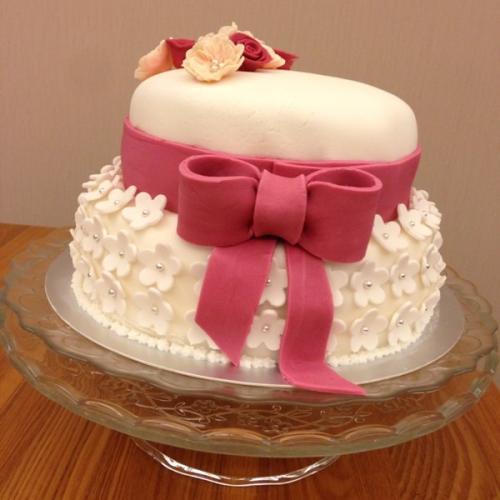自己做的翻糖蛋糕