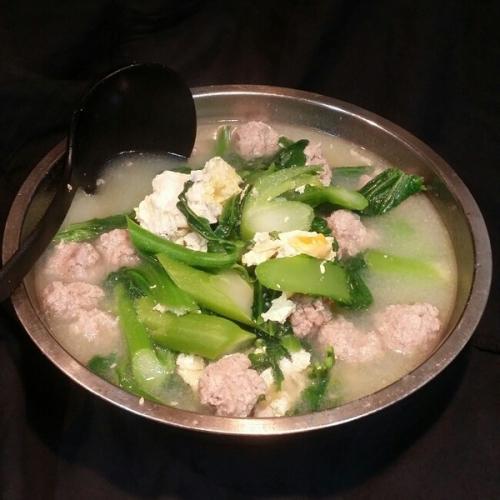 芥菜肉丸汤