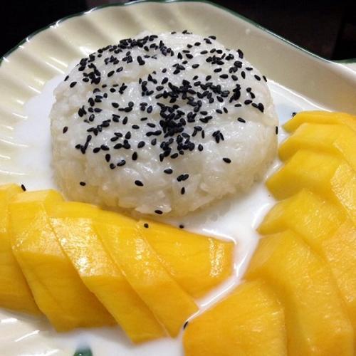 泰国芒果糯米饭